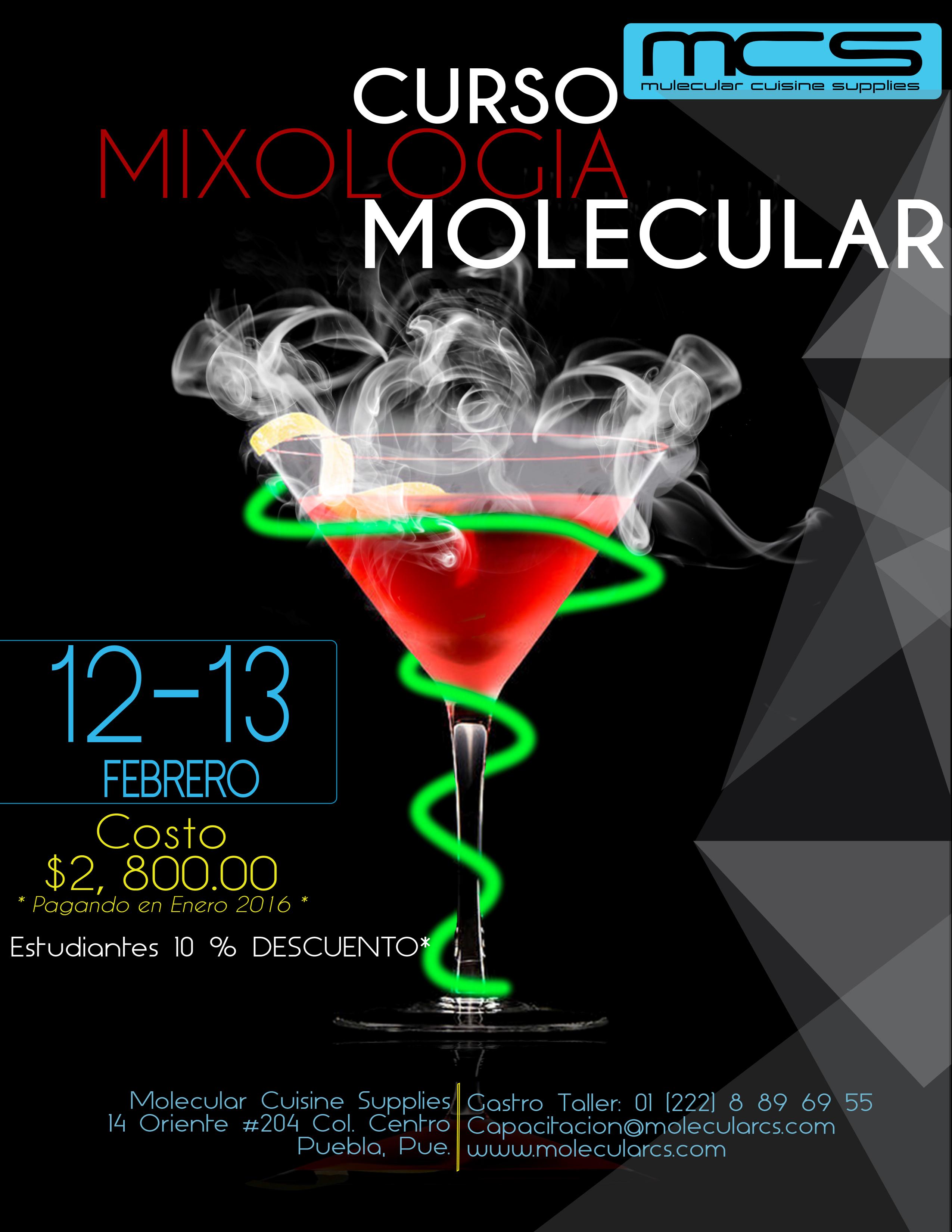 Curso mixologia molecular blog cocina molecular for Libros de cocina molecular