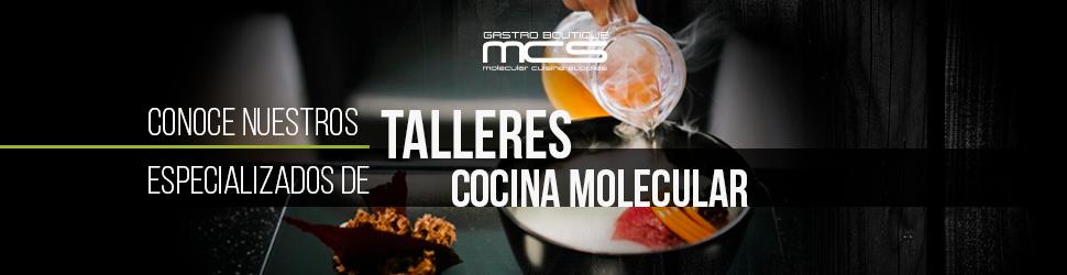Talleres Cocina molecular