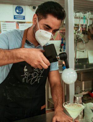 bubble d-rink cocina molecular mcs